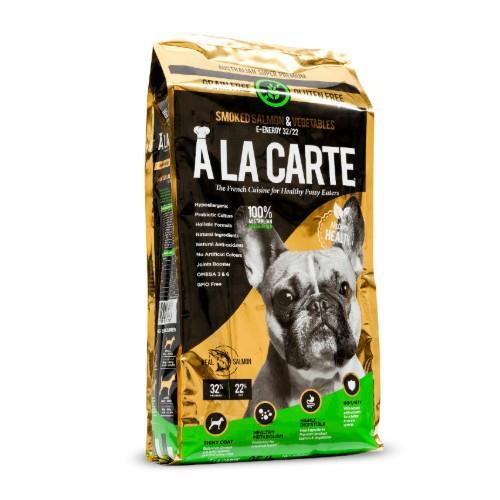 A La Carte Grain Free Smoked Salmon and Vegetable Junior 15.88kg