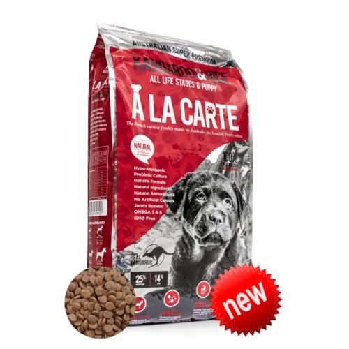 A La Carte Kangaroo and Rice All Life Stages and Puppy 18kg