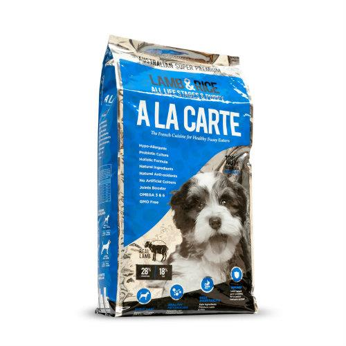 A La Carte Lamb and Rice All Life Stages and Puppy 18kg