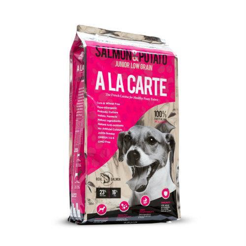 A La Carte Salmon and Potato Junior Low Grain 18kg