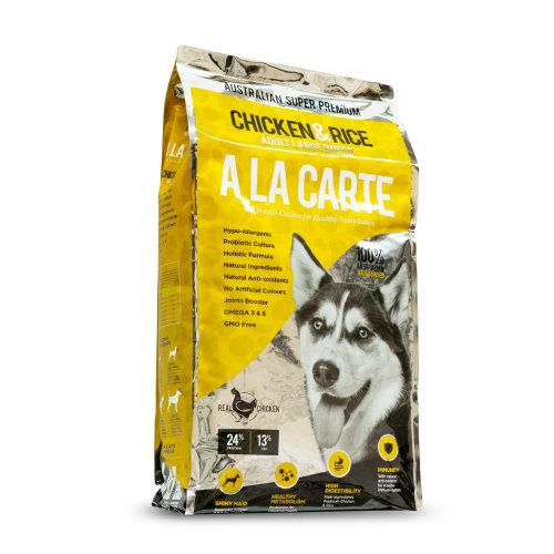 A la Carte Chicken and Rice Adult Large Breed 18kg