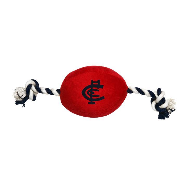 AFL Carlton Pets Football Toy
