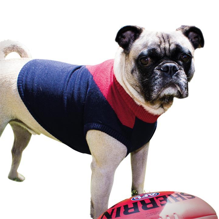 AFL Dog Large 57cm Jumper Melbourne Demons