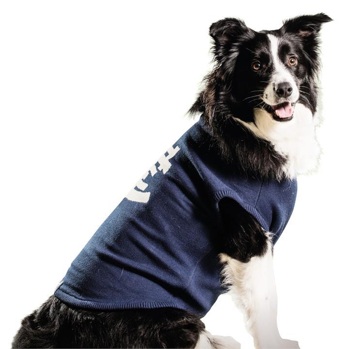 AFL Dog Medium 47cm Jumper Carlton Blues