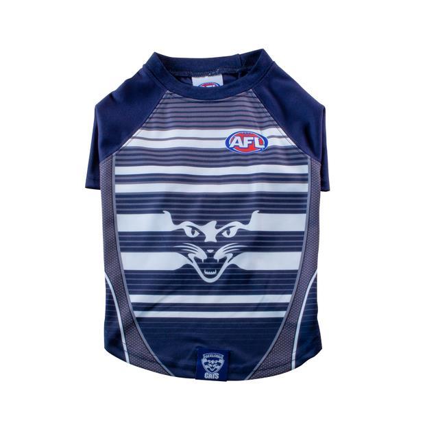 AFL Dog Tshirt Geelong Cats Small