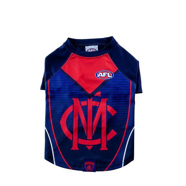 AFL Dog Tshirt Melbourne Demons Small