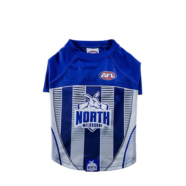 AFL Dog Tshirt North Melbourne Kangaroos Small