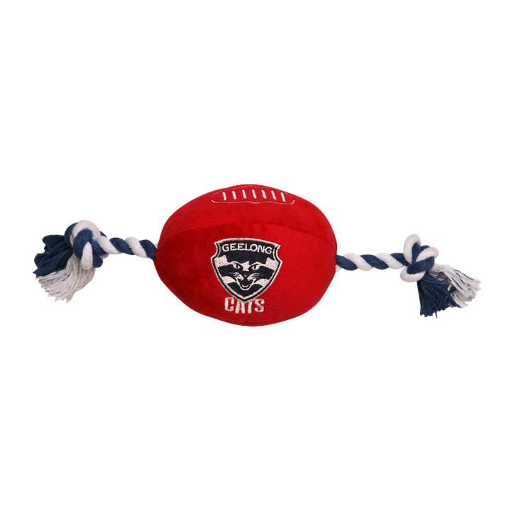 AFL Geelong Pets Football Toy