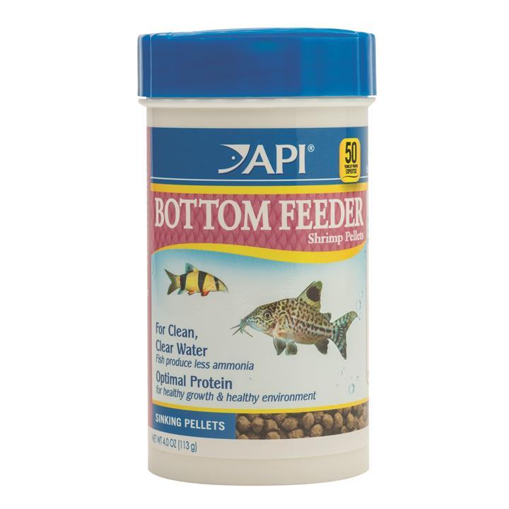 API Bottom Feeder Shrimp Pellets 113gm