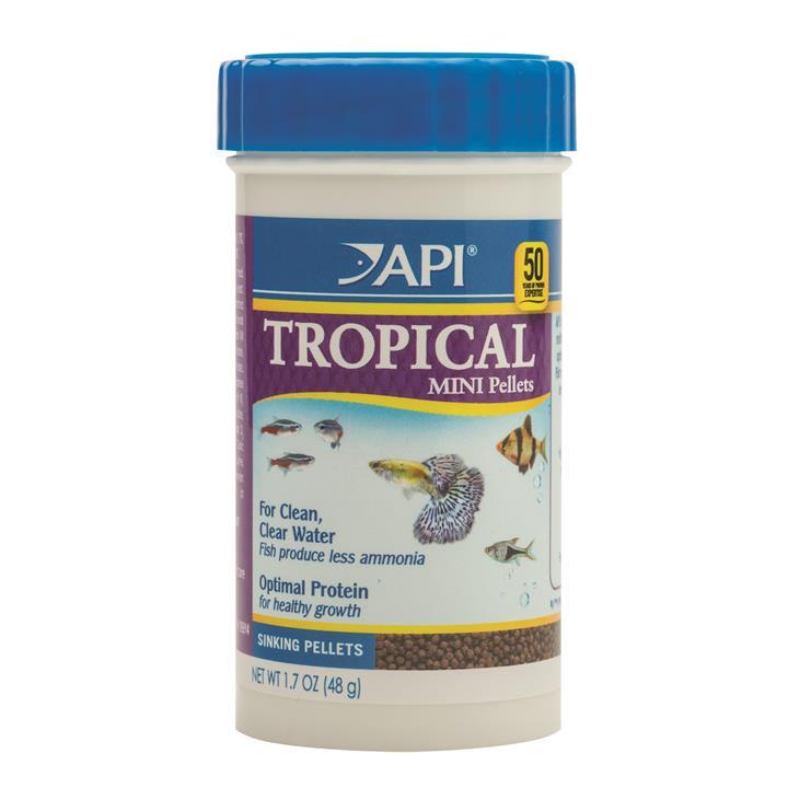 API Tropical Mini Pellet Food 48gm