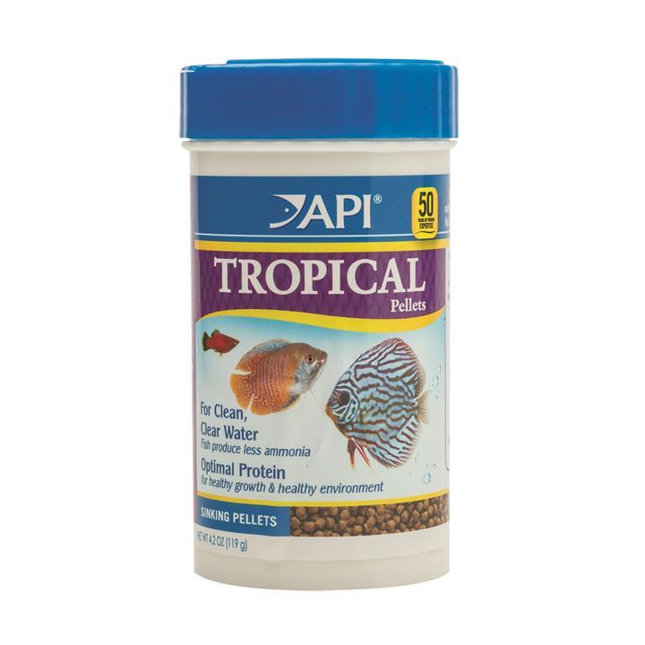 API Tropical Pellet Food 119gm