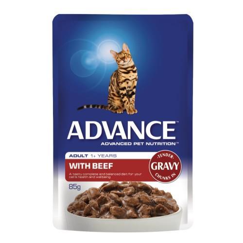 Advance Adult Beef in Gravy 12x85g