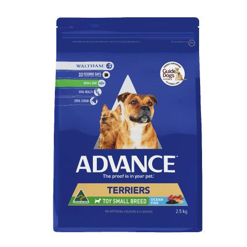 Advance Adult Terrier Toy/Small Breed 2.5kg