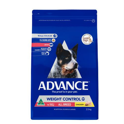 Advance All Breed Weight Control 2.5kg
