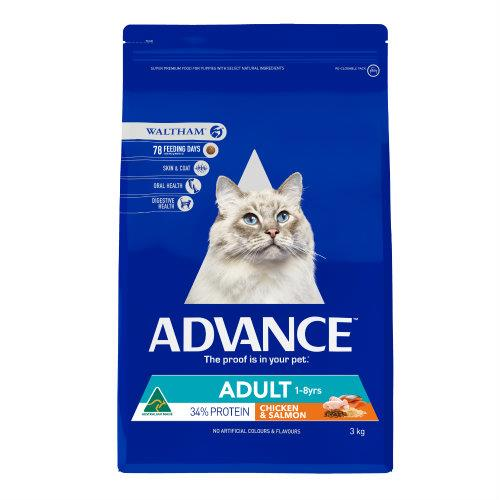 Advance Cat Adult Chicken and Salmon 3kg