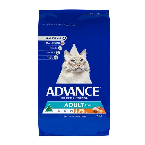 Advance Cat Adult Chicken and Salmon 6kg