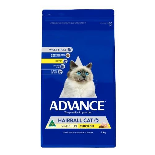 Advance Cat Adult Hairball 2kg