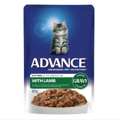 Advance Kitten Lamb in Gravy 12x85g