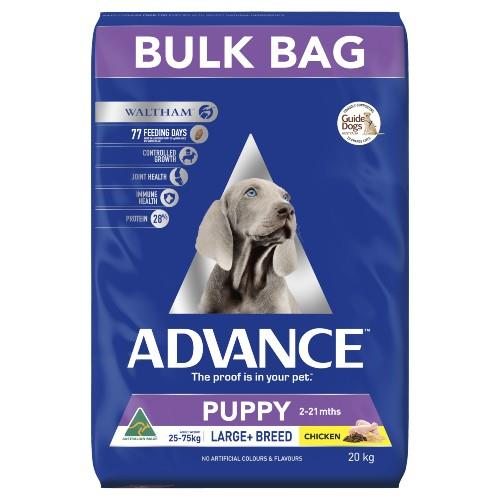 Advance Large Breed Puppy Plus Growth 20kg