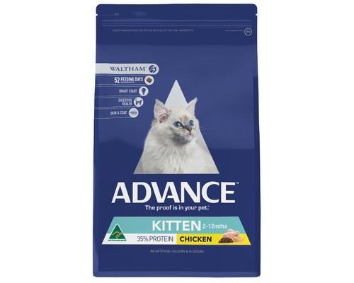 Advance Plus Kitten Growth Chicken Dry Cat Food 6kg