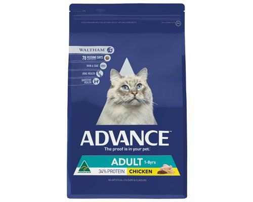 Advance Total Wellbeing Chicken Adult Dry Cat Food 3kg