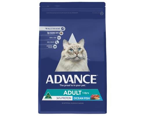 Advance Total Wellbeing Fish Adult Dry Cat Food 3kg