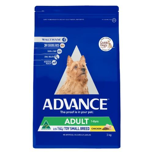 Advance Toy and Small Breed Chicken 3kg