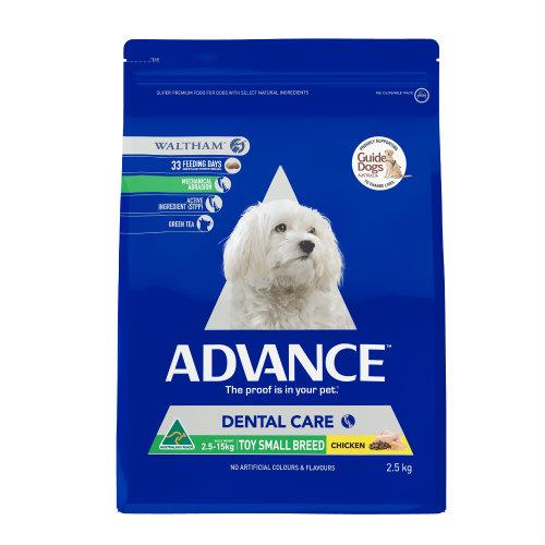 Advance Toy and Small Breed Dental 2.5kg