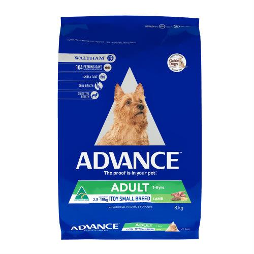 Advance Toy and Small Breed Lamb 8kg