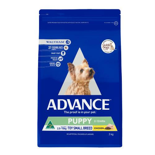 Advance Toy and Small Breed Puppy Growth 3kg