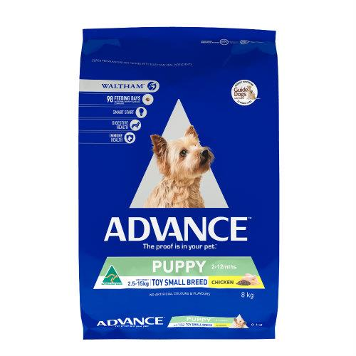 Advance Toy and Small Breed Puppy Growth 8kg