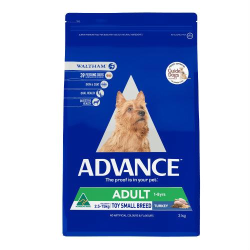 Advance Toy and Small Breed Turkey 3kg