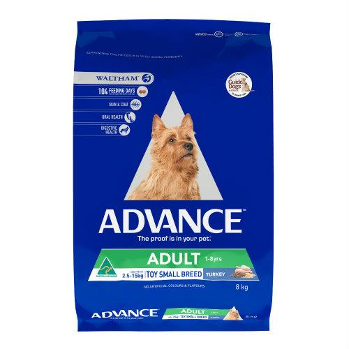 Advance Toy and Small Breed Turkey 8kg