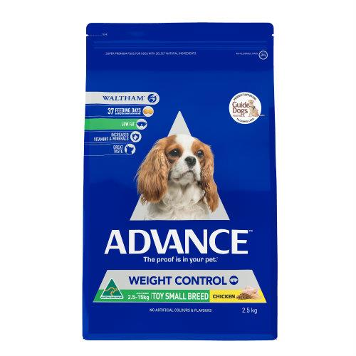 Advance Toy and Small Breed Weight Control 2.5kg
