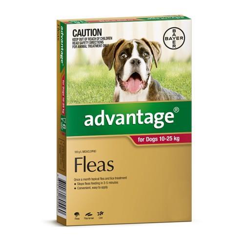 Advantage Large 10-25kg Red 6 pack