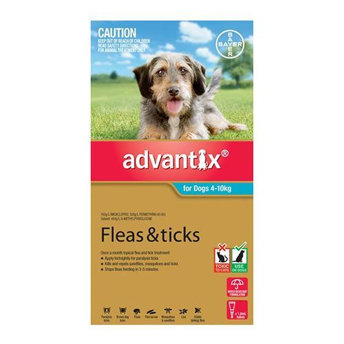 Advantix Dog Medium Aqua 3 Pack