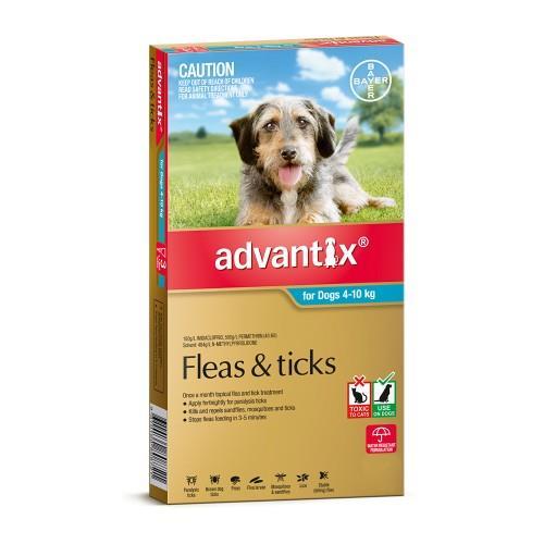 Advantix Medium 4-10kg Teal 3 pack