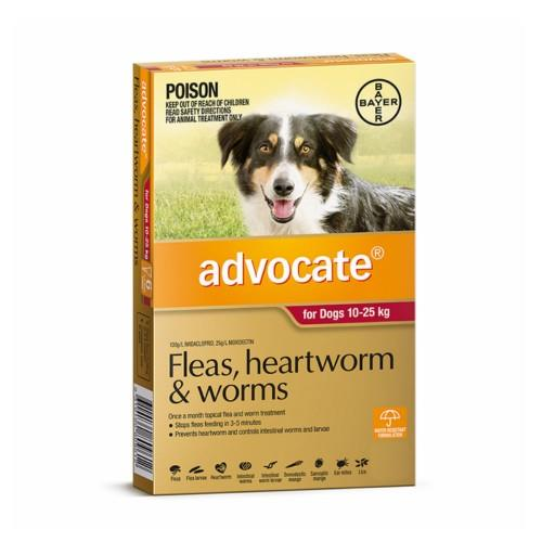 Advocate Large 10-25kg Red 3 pack