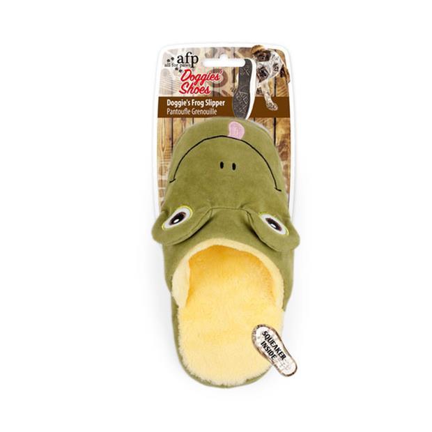 Afp Doggies Frog Slipper Each