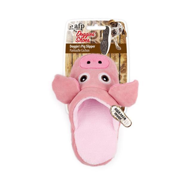 Afp Doggies Pig Slipper Each