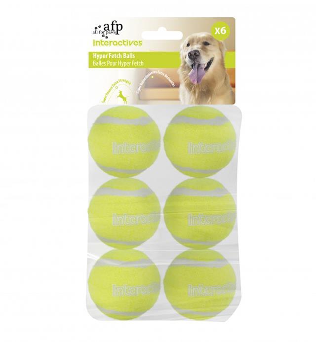 Afp Interactive Fetch Balls 6 Pack