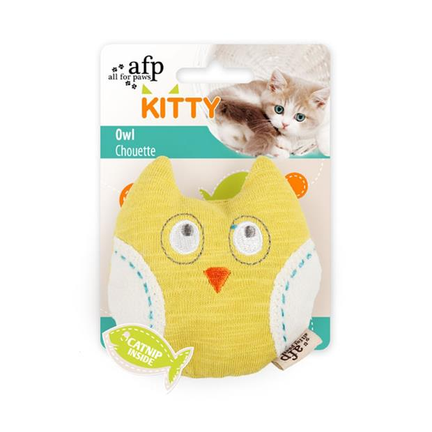 Afp Kitty Owl Cat Toy Each