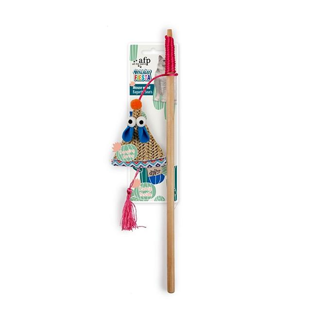 Afp Whisker Fiesta Mouse Wand Each