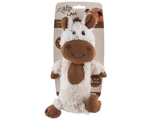 All For Paws (afp) Lambswool Cuddle Crackler Toy For Dogs