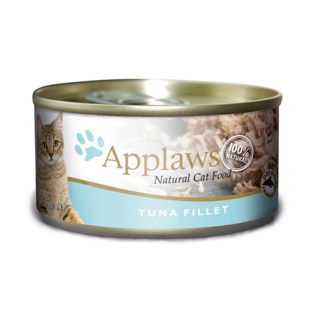 Applaws Wet Cat Food Tuna Tin 24 X 70g