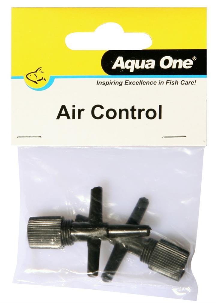Aqua One Air Line T Control Valve 2 Pack