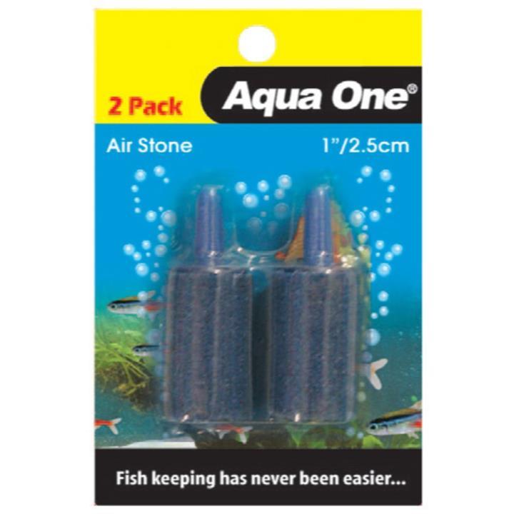 Aqua One Airstone 2.5cm 2 Pack