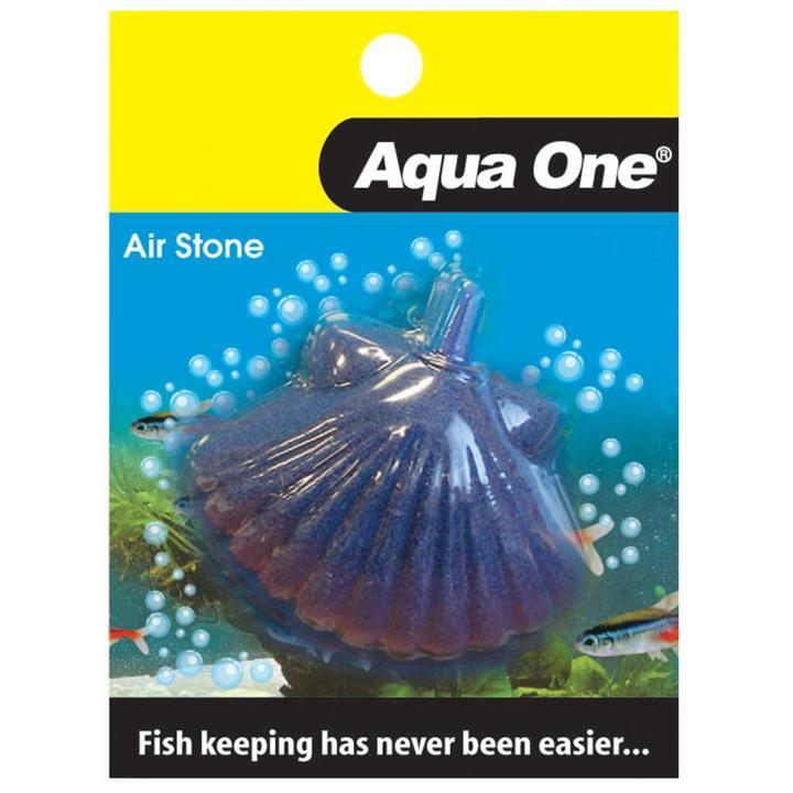 Aqua One Airstone Shell Fish Small 5cm x 3.5cm