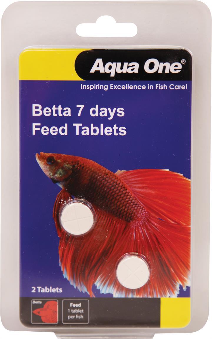 Aqua One Block Betta 7 Day Feeder 2 Tabs