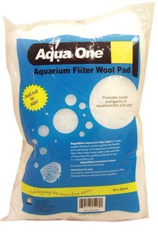 Aqua One Filter Wool Coarse 70x24cm Bag